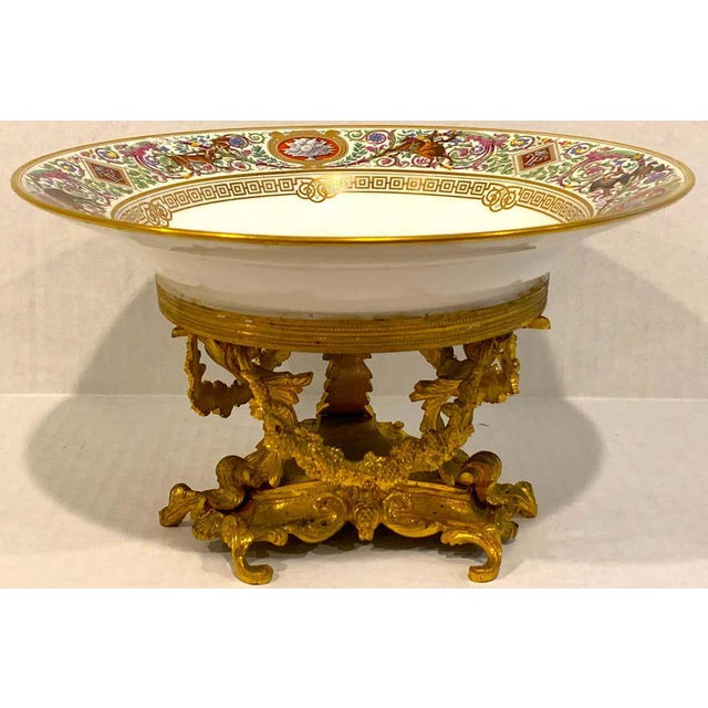 Sevres Porcelain Ormolu Tazza, From the Hunting Service of King Louis Philippe For Sale - Image 10 of 12