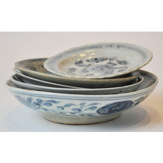 19th Century Collection of Blue and Bone Colored Chinese Porcelain Preview