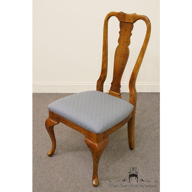 Traditional Late 20th Century Vintage American of Martinsville Queen Anne Style Dining Chair For Sale - Image 3 of 9