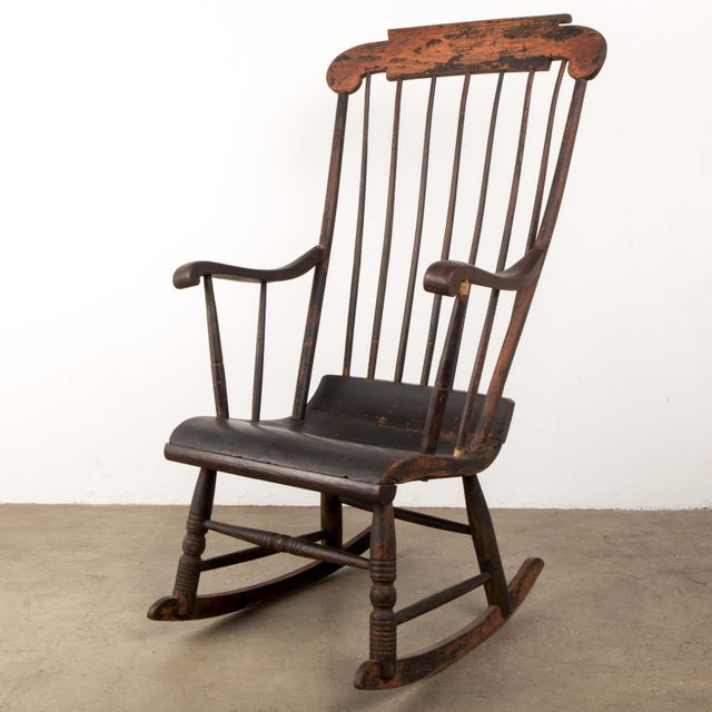 Early 19th Century Windsor Rocking Chair For Sale - Image 13 of 13