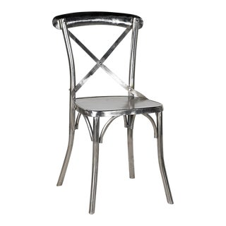 Nickel Plated Dining Chair