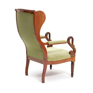 Late 19th Century Empire Wingback Chair Preview