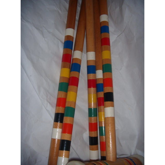 Vintage Croquet Mallets - Set of 5 - Image 5 of 7