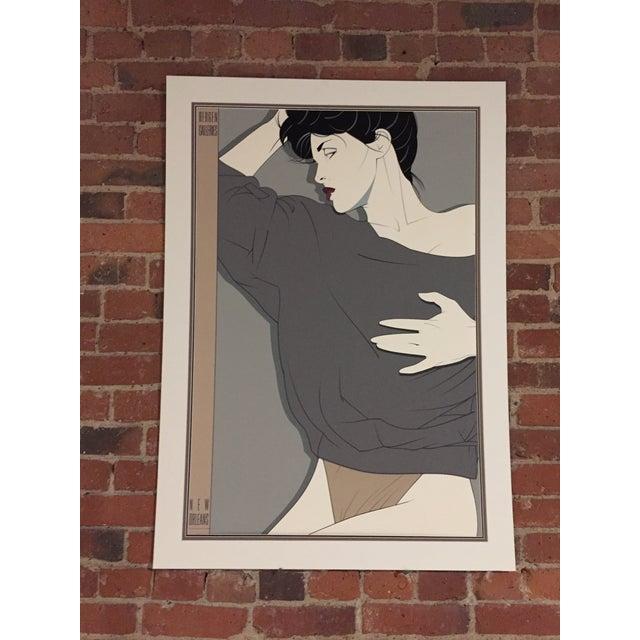 1980's Patrick Nagel Commemorative Serigraph - Image 2 of 3