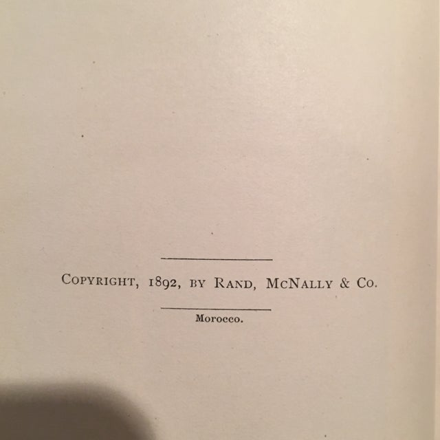 """1892 Leather """"Into Morocco"""" 1st Edition Book - Image 7 of 10"""