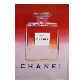 Vintage Andy Warhol Chanel No. 5 Poster For Sale