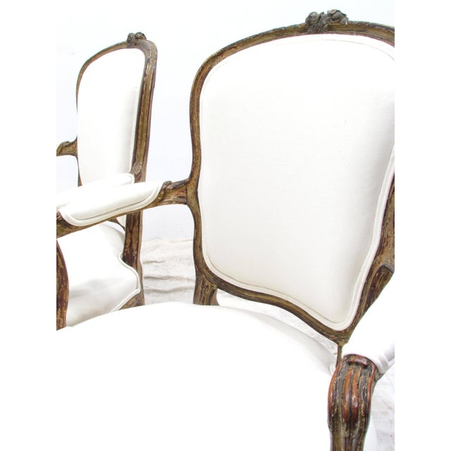 Louis XV Style Fauteuils - A Pair For Sale In Greensboro - Image 6 of 11