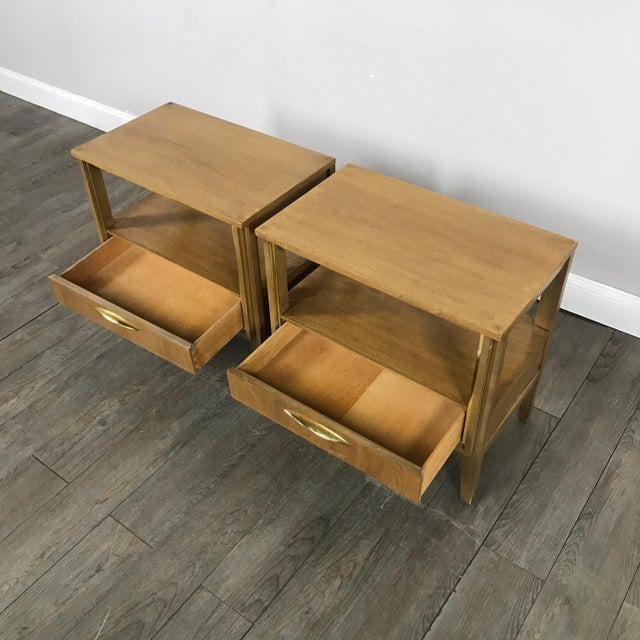 Mid Century Nightstands - a Pair - Image 4 of 11