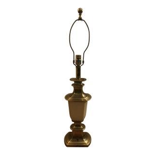 Stiffel Brass & Enamel Table Lamp For Sale