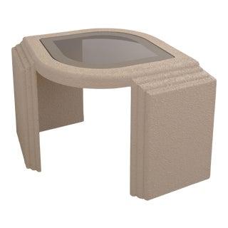 20th Century Postmodern Plaster Cat Eye Table For Sale