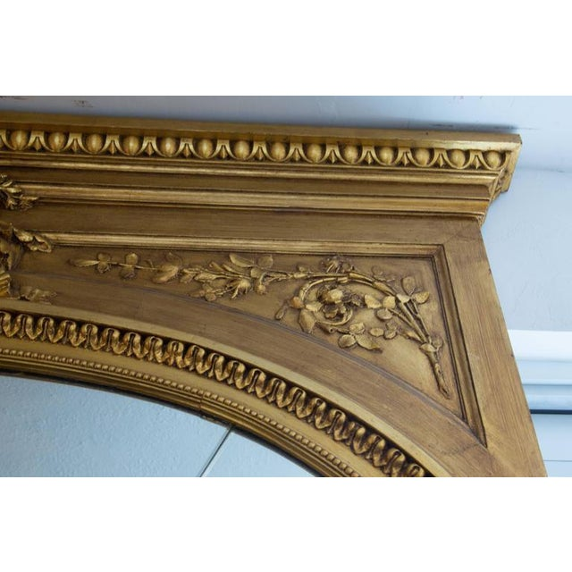 19th Century Giltwood Palace Mirror For Sale - Image 4 of 7
