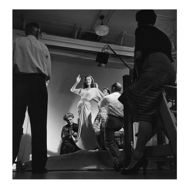 Elaine Stewart being photographed by Ray Jones 1953 For Sale