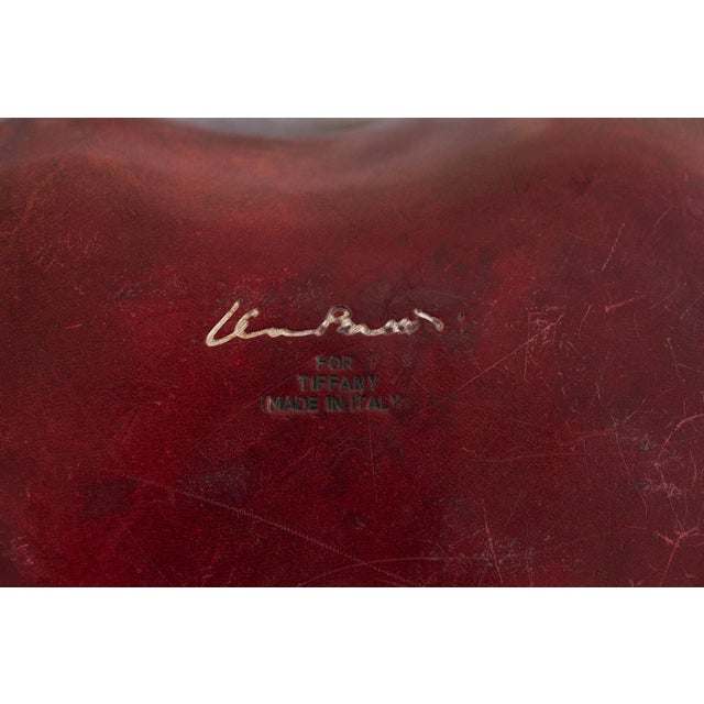 2000 - 2009 Elsa Peretti for Tiffany & Co. Leather Heart Box For Sale - Image 5 of 6