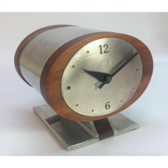 Vintage Nelson Style Sessions Desk Clock For Sale - Image 6 of 7