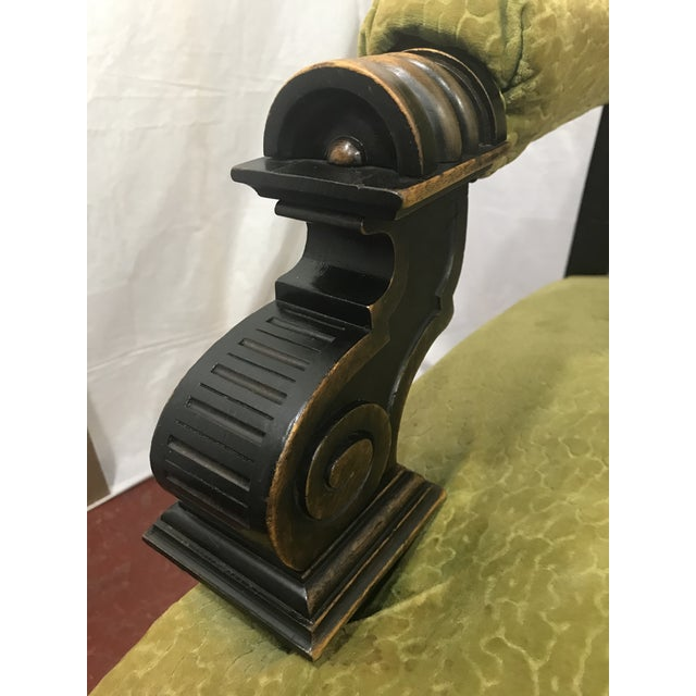 Wood Russian Imperial Renaissance Revival Throne Chair For Sale - Image 7 of 10