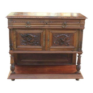1900s French Louis XIII Sideboard/Console Table For Sale