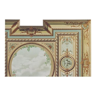 Late 19th Century French Architectural Ornament Lithograph