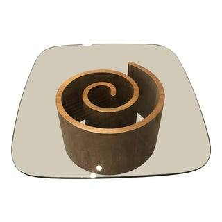 Kagan Snail Coffee Table For Sale