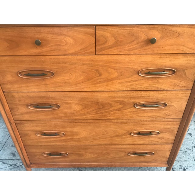 Mid-Century Tall Boy Dresser by Morganton For Sale - Image 11 of 13