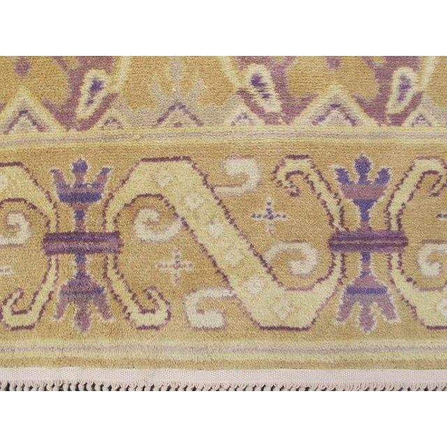 Textile Spanish Carpet For Sale - Image 7 of 10