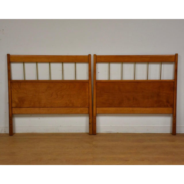 Paul McCobb Planner Group Headboards- a Pair For Sale - Image 10 of 10