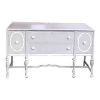 Shabby Chic Side Board or Server For Sale