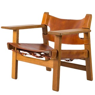 "Børge Mogensen ""Spanish"" Chair For Sale"