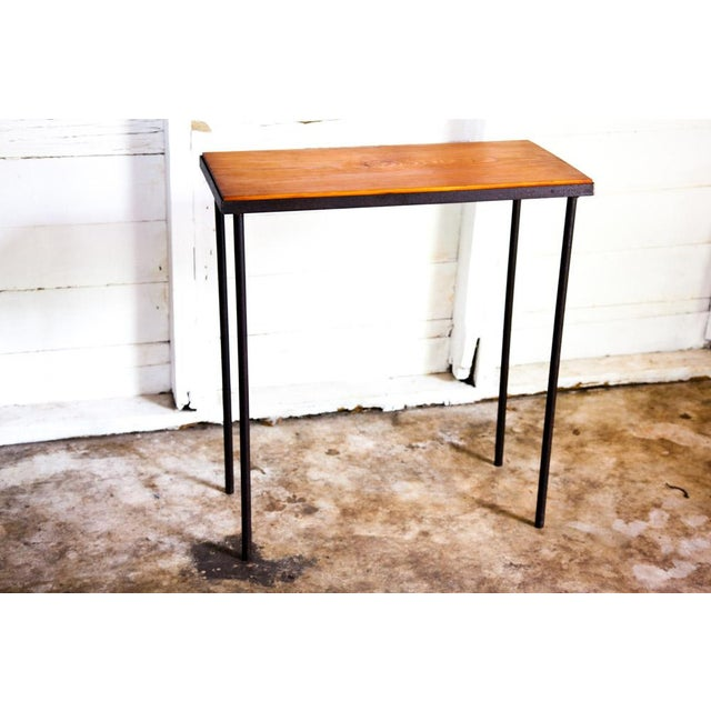 Mid-Century Modern Mid-Century Modern Hand-Bag Entry Table For Sale - Image 3 of 12