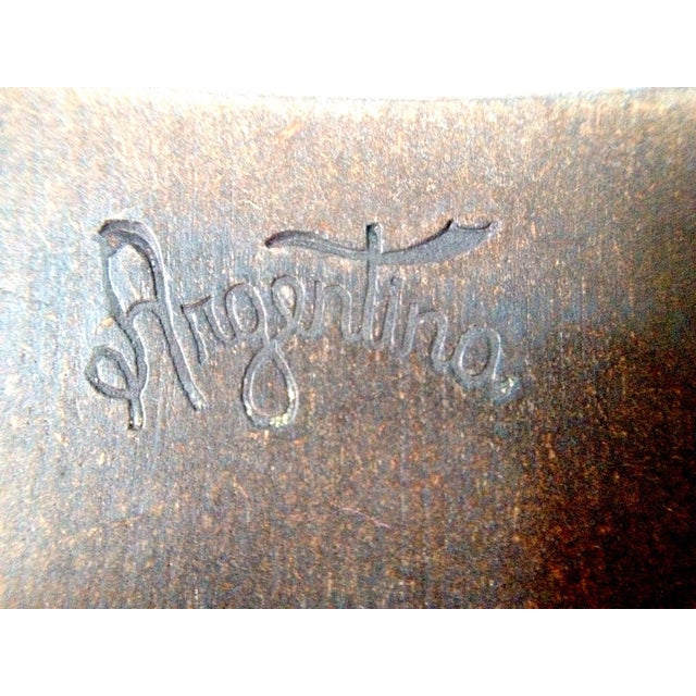 Argentinian Etched Boxes - A Pair - Image 7 of 8