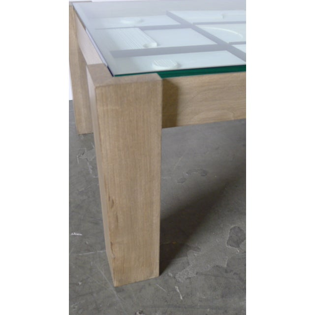 Modernist Frieze Cocktail Table by Paul Marra For Sale In Los Angeles - Image 6 of 10