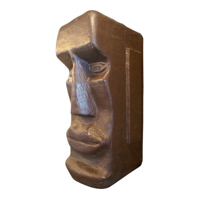 Giant Tiki Head Statue For Sale