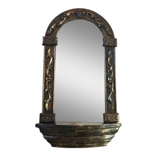 Curved Wall Mirror For Sale