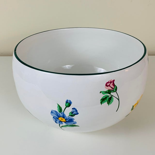 Contemporary Tiffany & Co. Porcelain Sintra Serving Bowl For Sale - Image 3 of 8