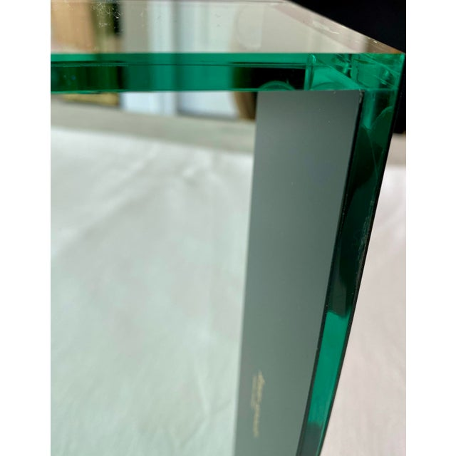 Plastic Kate Spade Green Lucite Desk Tray For Sale - Image 7 of 11