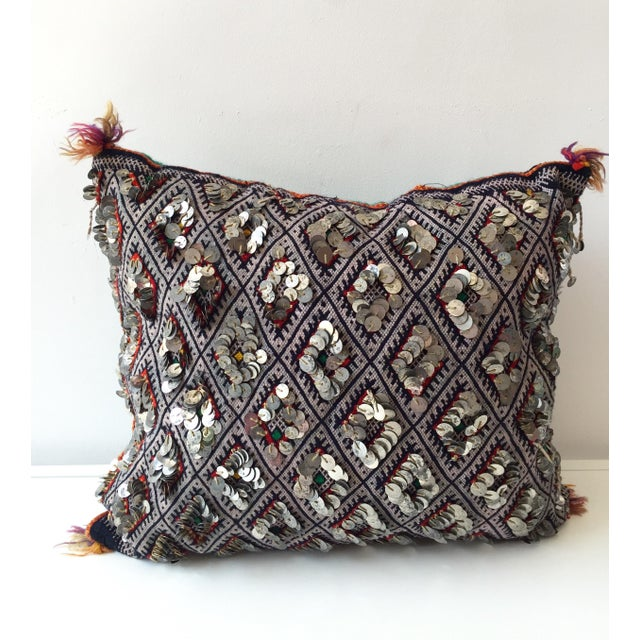 Moroccan Dhurrie Throw Pillow - Image 2 of 6