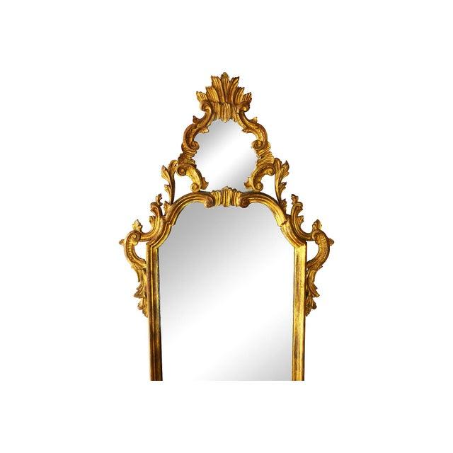 Italian Carved Gilt Wood Mirror - Image 2 of 7