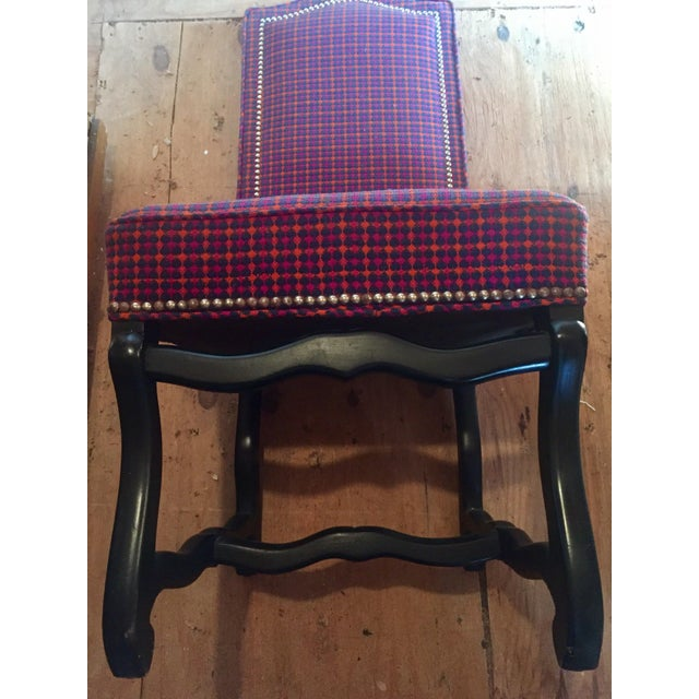 Louis XIII Style Os De Mouton Dining Chairs - a Pair - Image 5 of 11