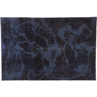 Distressed Vintage Turkish Contemporary Rug - 06'01 X 09'02 For Sale