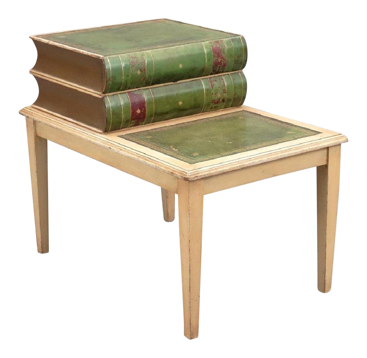 Decorative Stacked Books Table