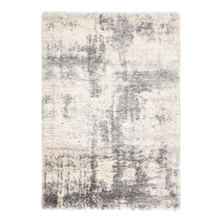 """Jaipur Living Serenade Abstract Ivory Light Gray Area Rug 8'10""""X11'9"""" For Sale"""