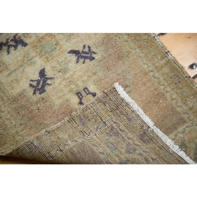 "Vintage Oushak Rug Mat - 1'7"" X 3'4"" - Image 6 of 7"