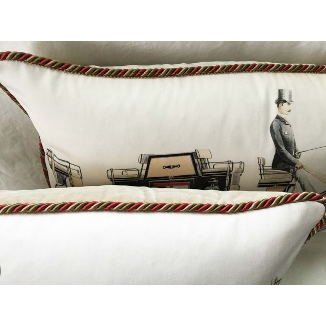 Aranjuez From Madrid Equestrian Accent Pillow - Image 6 of 7