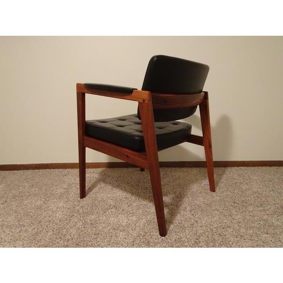 Mid Century Danish Modern Svegards Markaryd Arm Chair For Sale In Wichita - Image 6 of 11