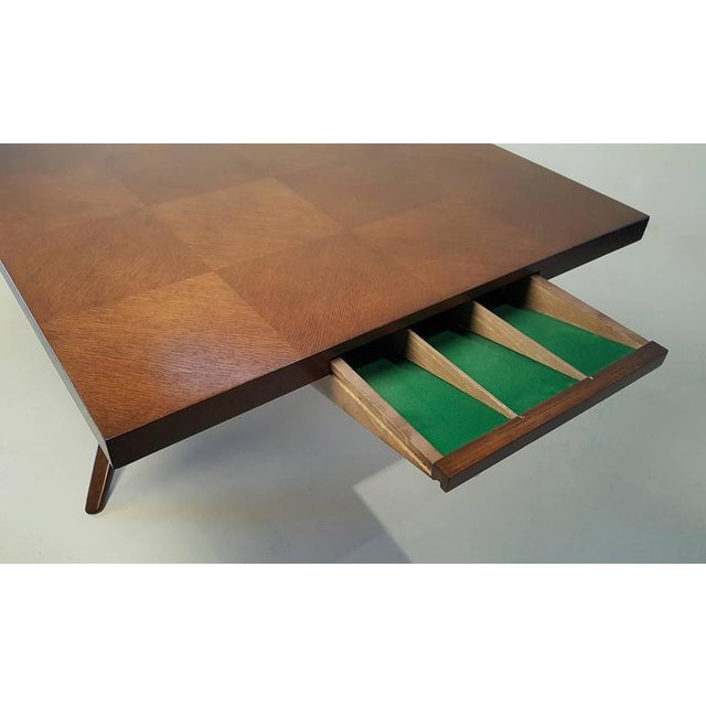 1950s Faceted Romweber Dining Table by Harold Schwartz For Sale - Image 5 of 8