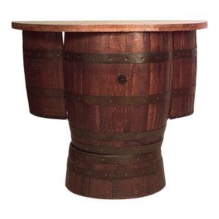Old Hickory Barrel Bar For Sale