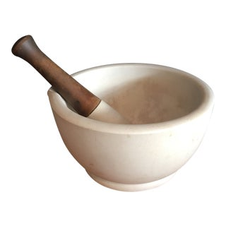 Antique Thomas Maddocks & Sons Apothecary Mortar & Pestle No.9 - a Pair For Sale