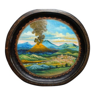 Batea of Volcano Paricutin C 1950-65 For Sale