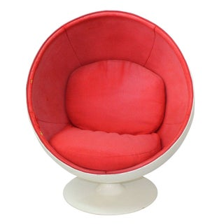 1960s Ball Chair by Eero Aarnio