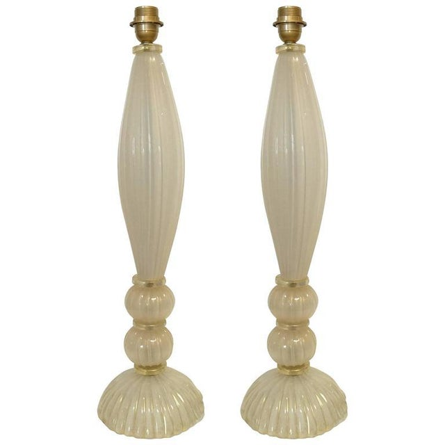 Metal Venetian Table Lamps - a Pair For Sale - Image 7 of 7