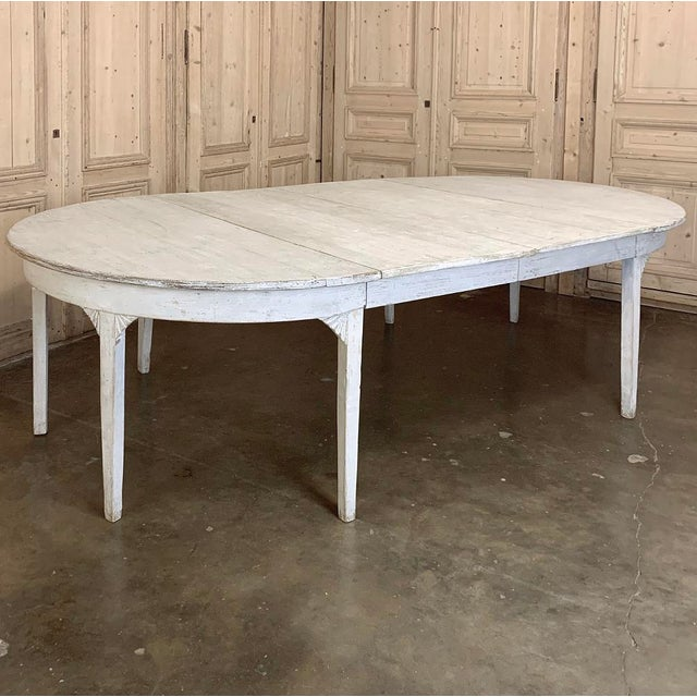 Banquet Table, Painted, Early 19th Century Swedish Gustavian Period For Sale - Image 13 of 13